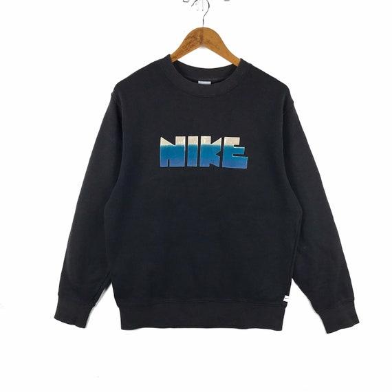 Vintage Nike Sweatshirt Nike Block Logo Pullover N