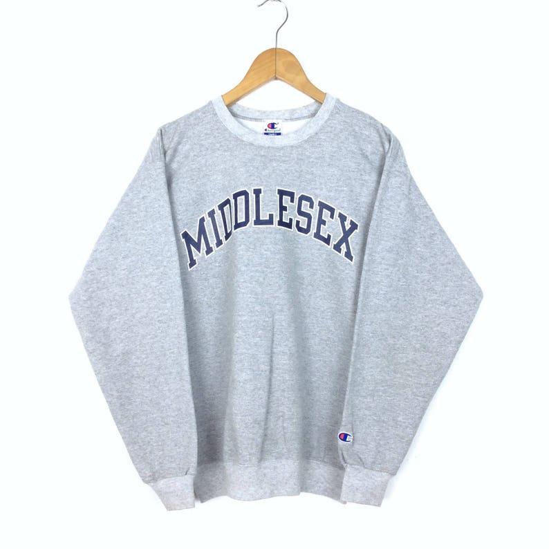 8a7472a5b1fdb Vintage Champion Sweatshirt Made In Mexico / Champion Sweater / Script Big  Logo Retro Rapper Fashion Rap Tees Hip Hop Swag Small Size