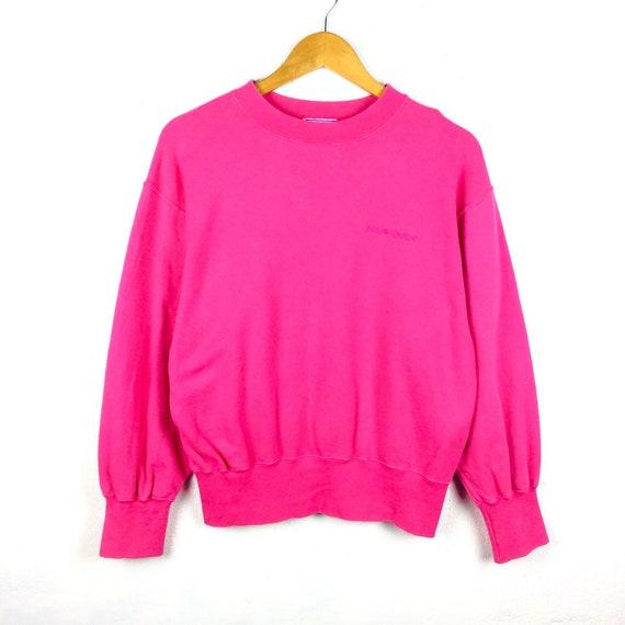 93eaa590285 RARE Vintage Yves Saint Laurent Sweatshirt YSL Pink Color image 0 ...