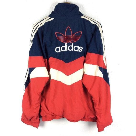 a75a1546b808a Vintage Adidas Jacket / Adidas Winbreaker Jacket / Jacket / Winter Jacket /  Hoodie / Vintage 90s Rap Tees Hip Hop Swag