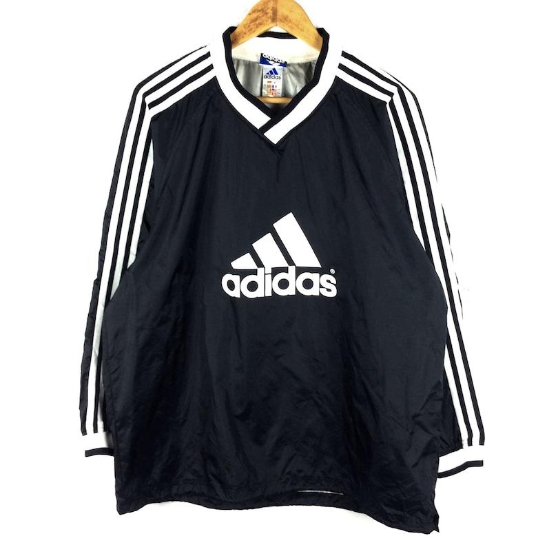 5face938867a6 Vintage Adidas Jacket / Adidas Windbreaker Jacket / Jacket / Winter Jacket  / Hoodie / Vintage 90s Rap Tees Hip Hop Swag