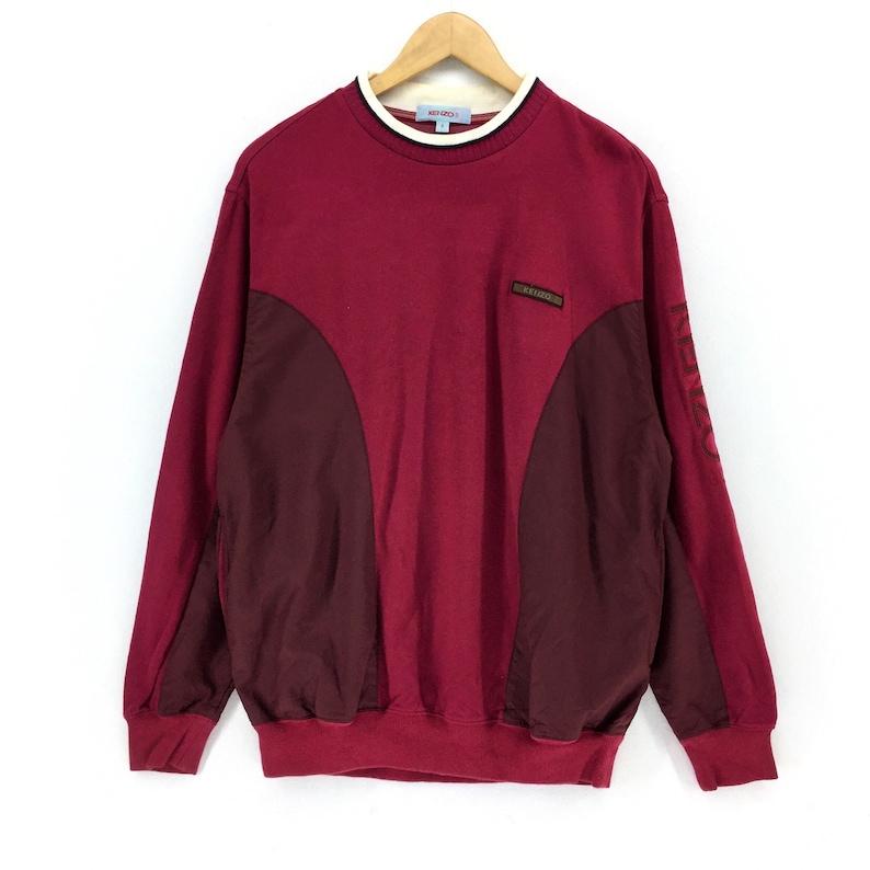 d27f26933 RARE Vintage Kenzo Jeans / Kenzo Golf Sweatshirt Big Logo   Etsy