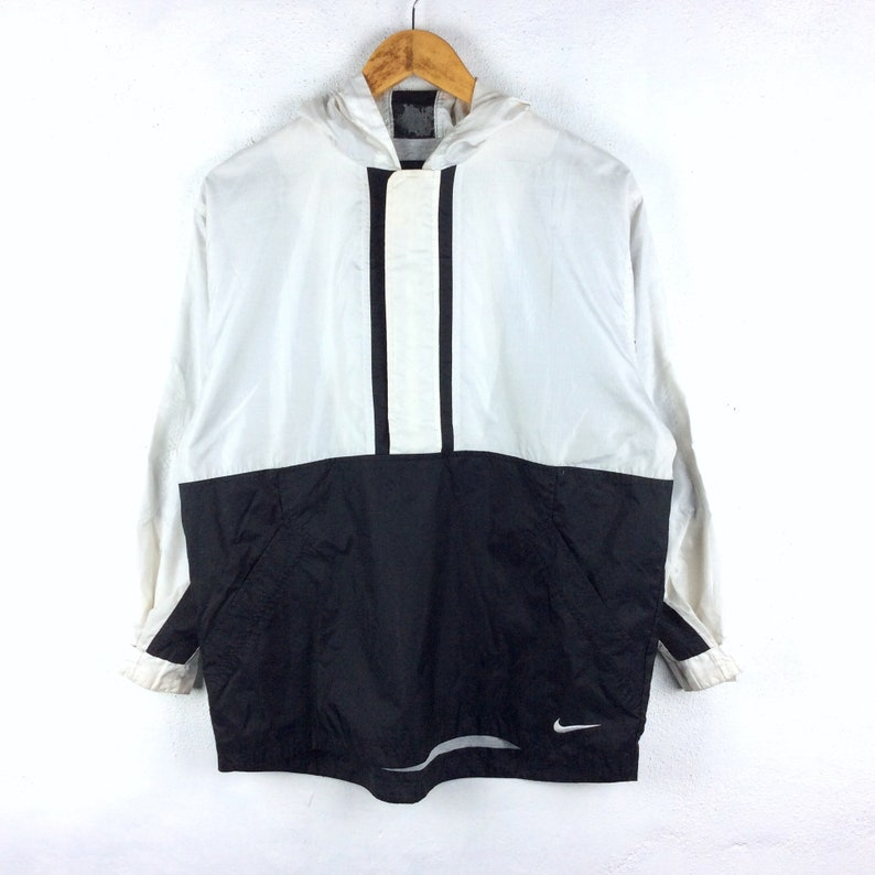 9f4715d78e Vintage 90s Nike Jacket Nike Windbreaker Jacket Nike Black