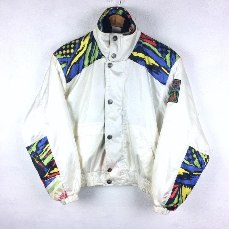 3ced010dd8b98 Vintage Adidas Jacket / Adidas Winter Jacket/ Adidas Hoodie / Adidas Bomber  Jacket / Blue Color Retro Fashion Rap Tees Hip Hop Swag