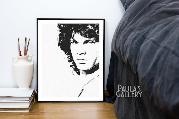Jim Morrison The Doors Vintage Large Poster Art Print A0 A1 A2 A3 A4