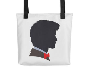 Doctor Who Tote Bag • Dr Who Tote Bag • Matt Smith • Geronimo • Eleventh Doctor • 11th Doctor