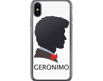 Doctor Who iPhone Case • Dr Who Phone Case • Matt Smith • Geronimo • Eleventh Doctor • 11th Dr • iPhone 6/Plus, 7/Plus, 8/Plus, X