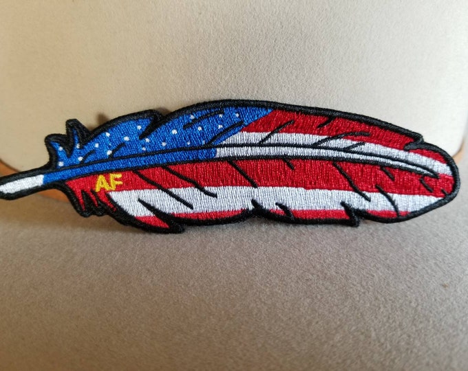 Official Classic American Feather Patch