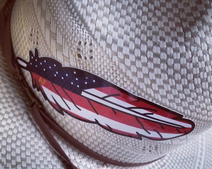 Official Classic American Feather Decal (Package of 5)