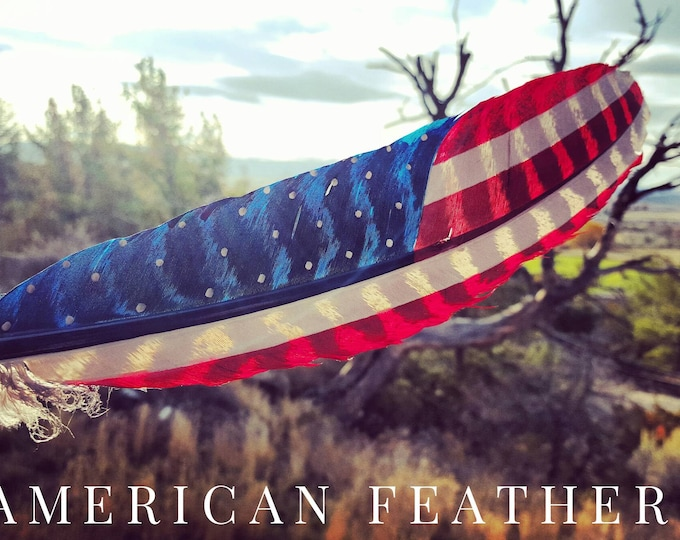 Large Display Classic American Feather