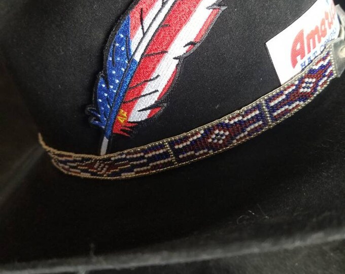 Official Classic American Feather Patch (package of 5)
