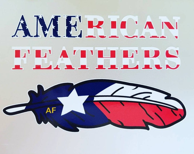 Official American Lonestar Decal (Package of 5)