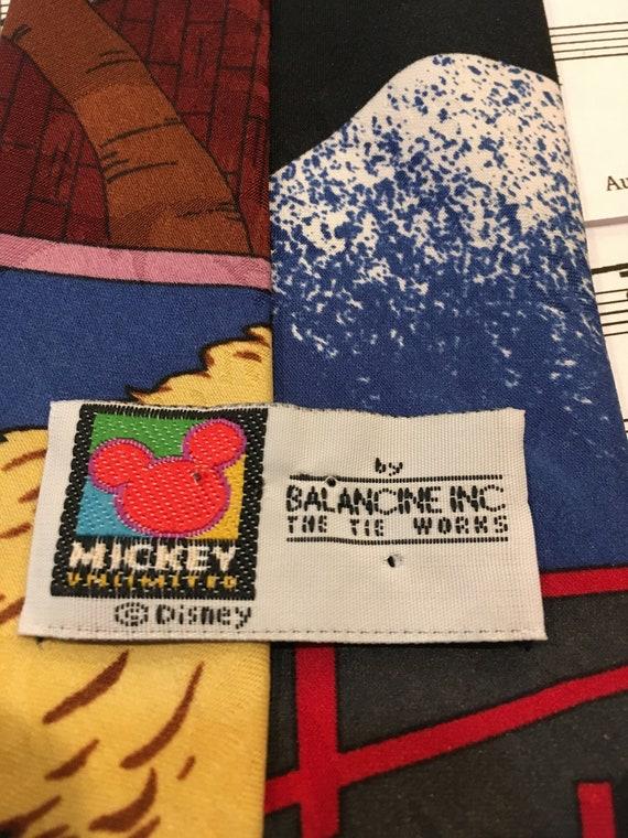 Mickey Mouse Necktie, Cowboy Mickey Tie - image 6