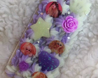 HyunA Lip & Hip Inspired iPhone 6/6s Plus Decoden Phone Case