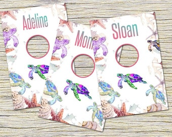 Turtle Clothing Rack Price Hanging Dividers, Clothing Name Style Divider for Clothes Racks, Hanger Tags , White Flowers, Pineapple Rack