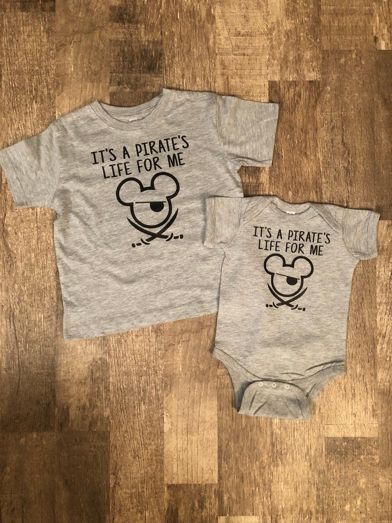 1d6753c04 It's a Pirate's Life For Me Shirts Toddler and Baby | Etsy