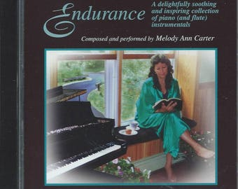 ENDURANCE CD Instrumental Piano Music with Nature Sounds