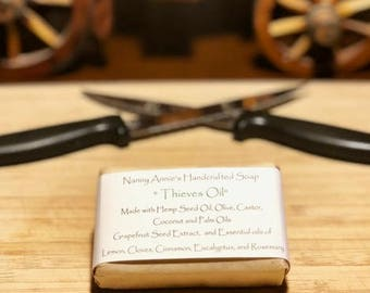 Thieves Oil Handcrafted Soap