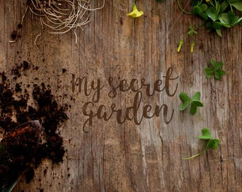 Rustic background | Styled image | Gardening photo | gardening jpeg image | Portrait image | Wood jpeg | Rustic wood | Instant download