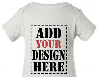Design Your Own Customized Onesie - Add your Photo or Text on Onesie - Personalized Onesie for Your Baby - Baby Apparel -