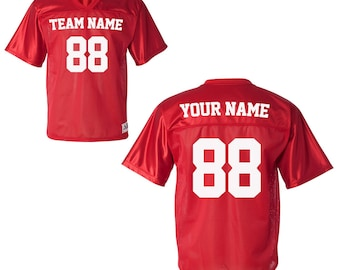 86a17bdb6 Custom Sports Jerseys for Babies and Toddlers - Personalized Team Uniforms  for USA Soccer Baseball Basketball Football Softball   Hockey