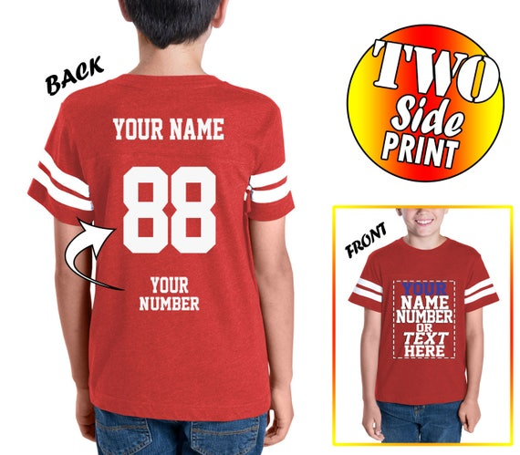 5835027d931f Design Your Own Customized Youth Jersey Add your Picture