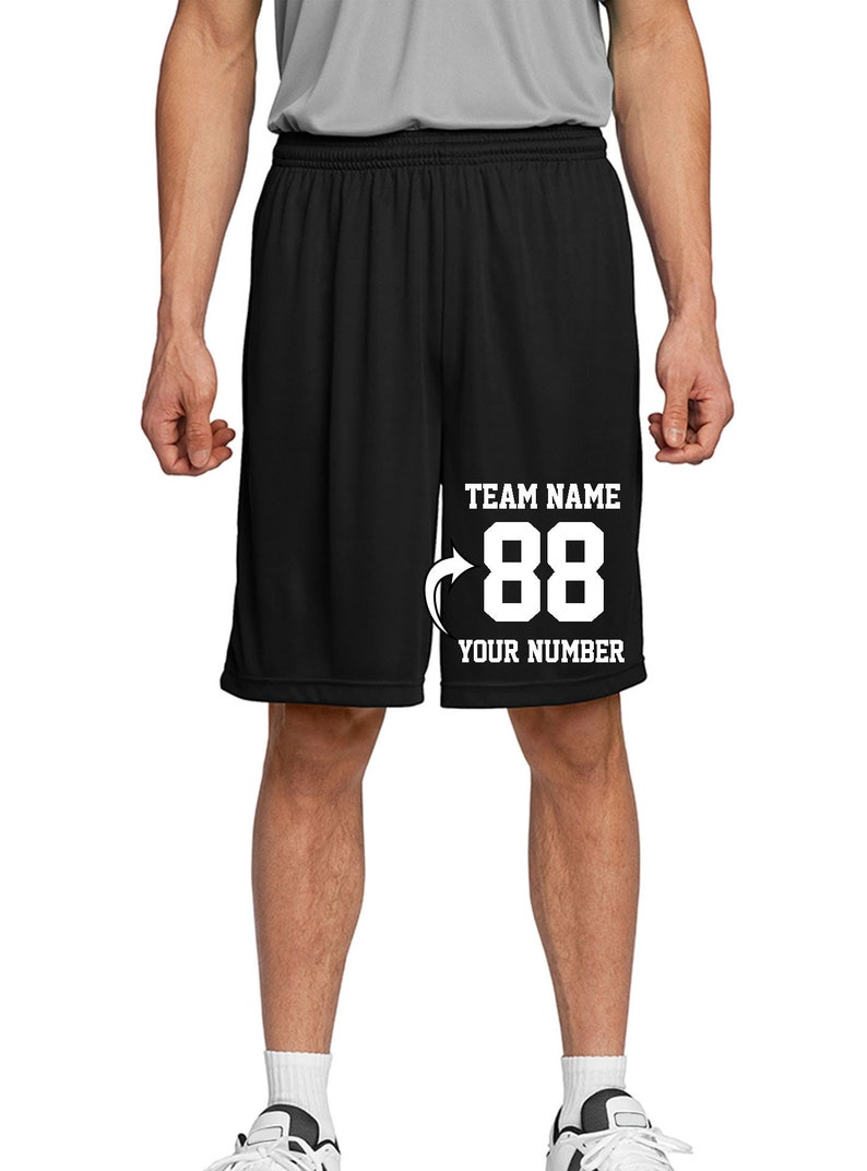 efc46a2ccee Custom Adult & Youth Basketball Shorts Make Your Own Short   Etsy