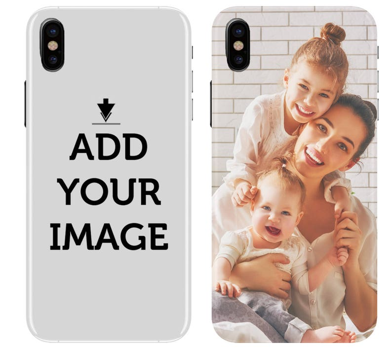 Personalized iPhone Xs XS Max Xr 8 7 Case  Make your image 0