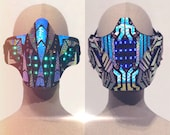 Holographic LED Mask | Li...