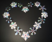 Holographic Flower Pasties | Nipple Pasties | EDC Pasties | Rave | Burlesque | Burning Man Pasties