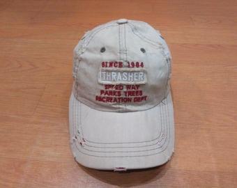 dce864eab5c Vintage Thrasher Cap Hat Thrasher
