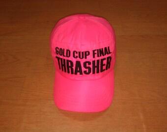 9c088970e3d Vintage Thrasher Cap Hat Thrasher Neon Cap Hat