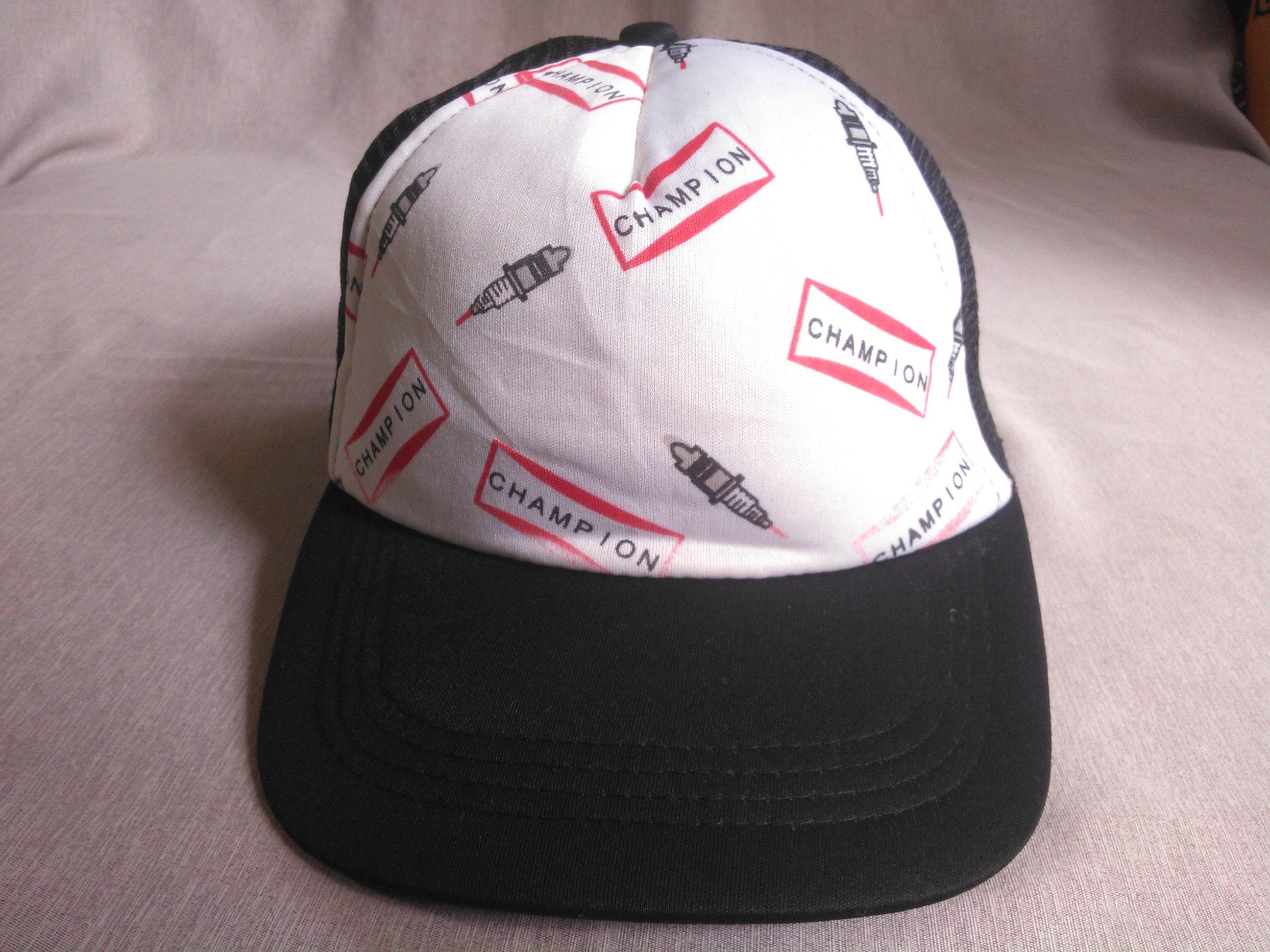 a5710628feb Champion Cap Hat Vintage Champion Cap Hat