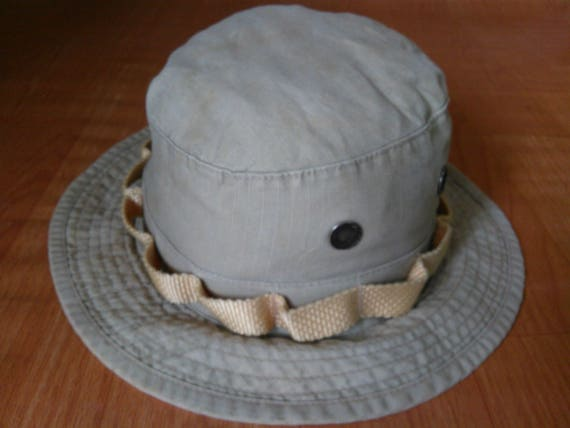 Vintage Boonie Hats Military Hot Weather Type l  e892405c38c3