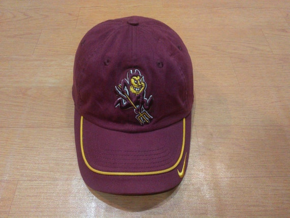 1db8103606c ... best price vintage nike team cap hat vintage nike arizona state cap hat  887af a20e5