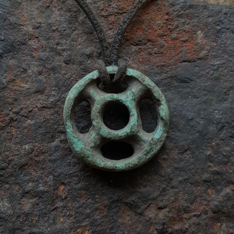 Ancient Celtic Proto-Money Pendant, Ancient Celtic Coin, Ancient Celtic  Wheel Pendant, Ancient Celtic Druid Amulet, 1000-500 B C