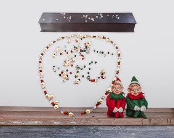 Austrian crystal christmas necklace