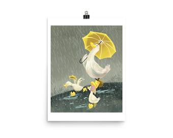 Rainy Day Ducks