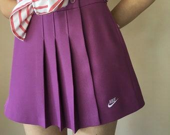 Nike Lavender Pleated Skirt