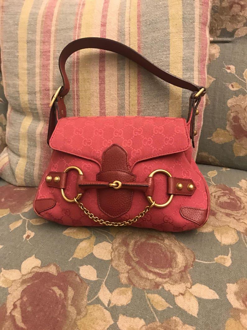 dc3afc95f39a Second hand Gucci horsebit bag | Etsy