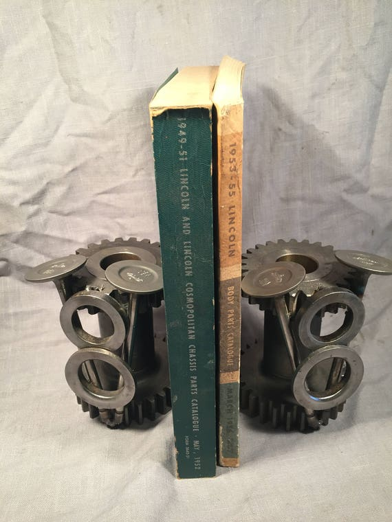 Hot rod bookends made from repurposed car parts functional car malvernweather Gallery