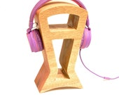 SOLID Wood Headphone Stand, Minimalist design, Gamer Gifts, Geek Gift, Man Gift, DJ Gift, Game Tag, Headphone Holder, Husband Gift.