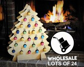 WHOLESALE lots of 24 Wine Advent Calendars! Wooden trees to hold MINI Wine, Bubbly, Cider, Shots, and more! Instant Christmas Cheer for all!