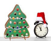 Gingerbread Cookie, Tree-Shaped Christmas Advent Calendar for Single Shot Bottles and more!