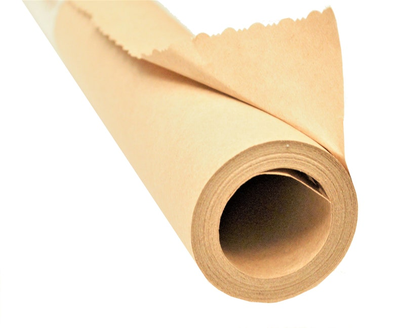 Plain Brown Recycled Kraft Paper  A REALLY BIG ROLL for all image 0