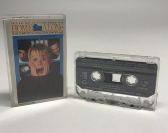 Home Alone Soundtrack Cassette Tape