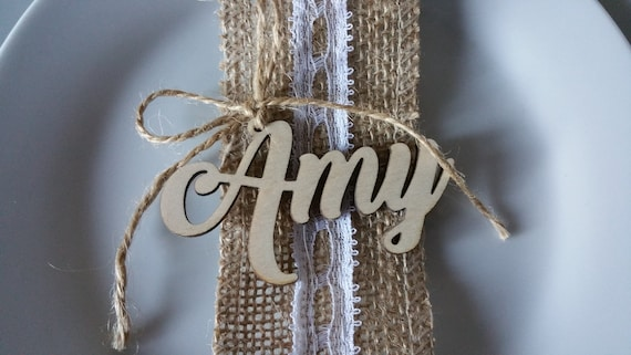 name tags for tables wedding wedding decor favour name etsy