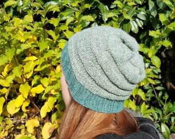 55ad8f0ef18 Hand Knit Women s Slouchy Alpaca Hat Slouchy Wool Hat Alpaca Knit Hat Women s  Winter Hat Knit Winter Hat