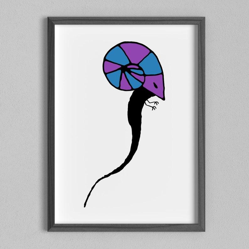 Aries Portrait - A4 Minimal horoscope art print  Aries Gift, Aries Monster,  Star Sign Wall Art, Horoscope Gift, Zodiac Art, Aries Horror