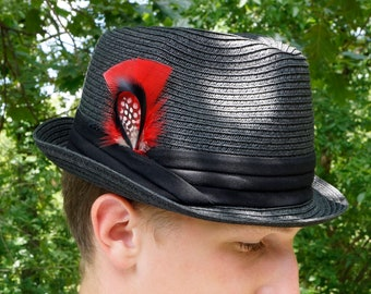 Feather Hat or Lapel Trim -  BP5207--BL-N-R ZUCKER®